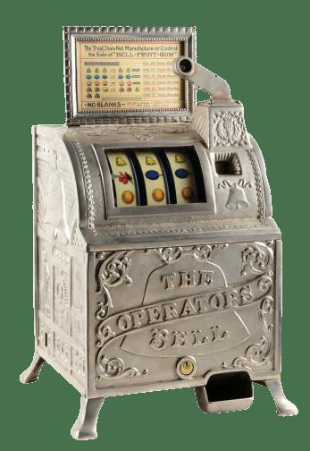 Machine à sous de la compagnie Bell Fruit Gum