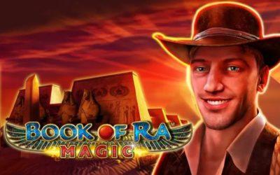 Jouer Gratuitement à la Machine à Sous Book of Ra Magic