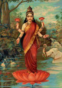 Lakshmi - La déesse hindoue de la richesse