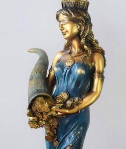 Tyche - La gouvernante de la fortune et de la prospérité