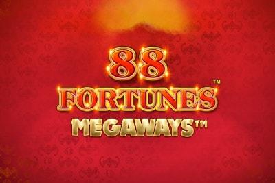 Logo de la machine 88 fortune megaways
