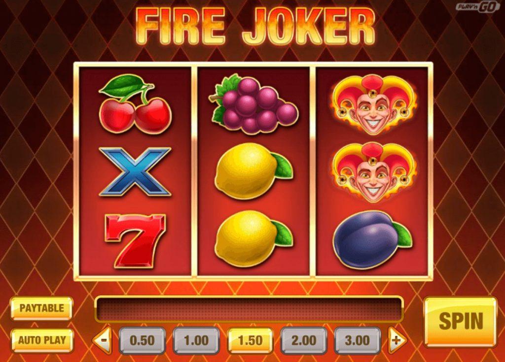 Jouer gratuitement à la machine à sous Fire Joker
