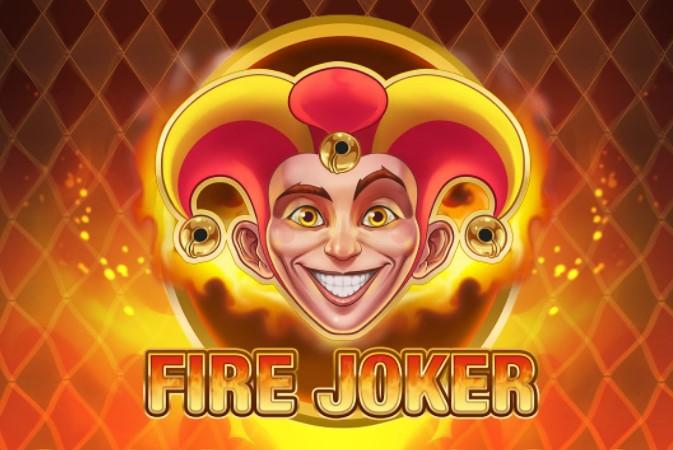 Logo de la machine à sous Fire Joker