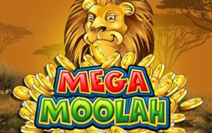 Logo de la machine à sous Mega Moolah