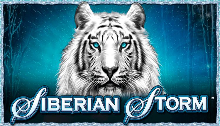 Logo de la machine à sous Siberian Storm