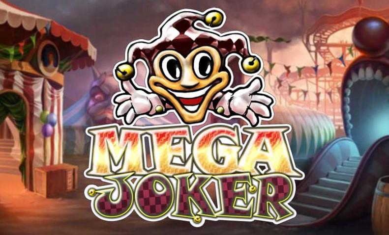 Logo de la machine à sous mega joker