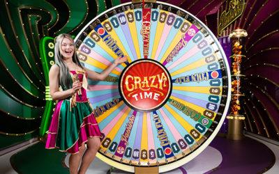 Jeu de casino Crazy Time – La roue du divertissement