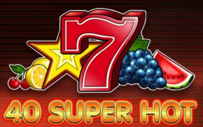 Jouer gratuitement à la machine à sous 40 Super Hot