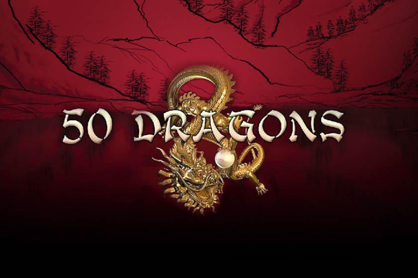logo de la machine à sous 50 Dragons
