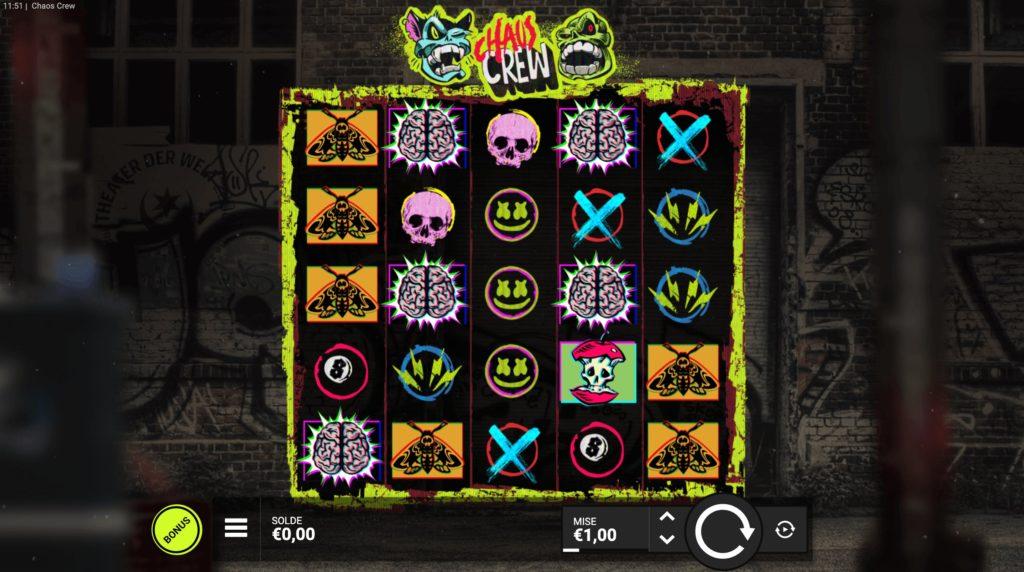 Jouer gratuitement à la machine à sous Chaos Crew