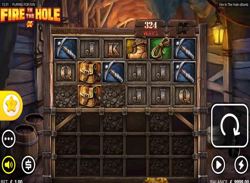 Jouer gratuitement à la machine à sous Fire In The Hole