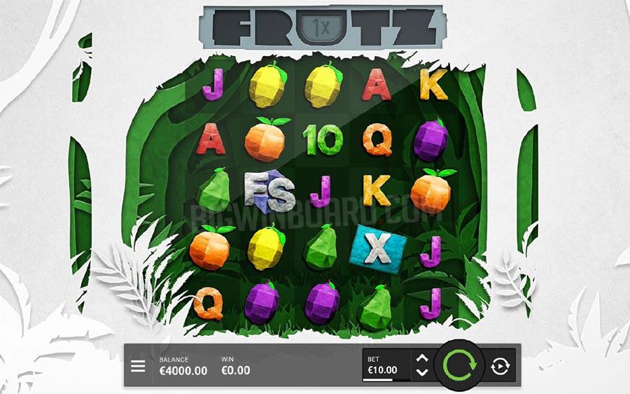 Jouer gratuitement à la machine à sous Frutz