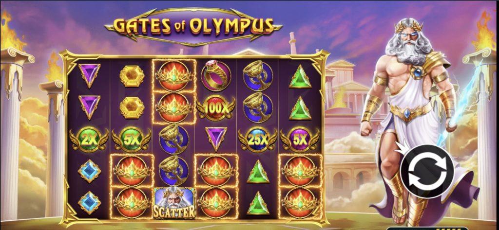 Jouer gratuitement à la machine à sous Gates of Olympus