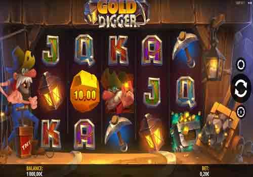 Jouer gratuitement à la machine à sous Gold Digger