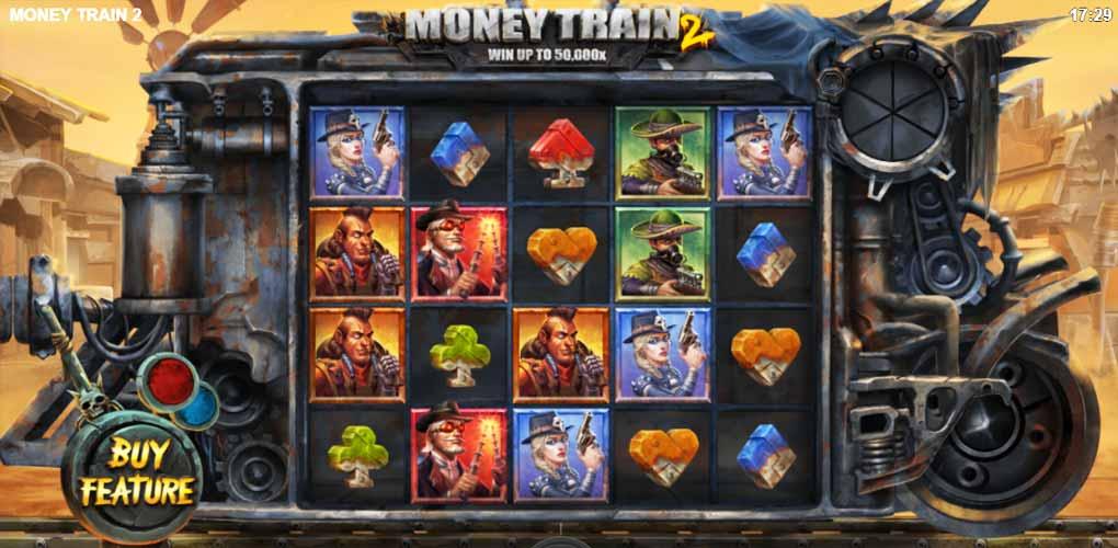 Jouer gratuitement à la machine à sous Money Train 2