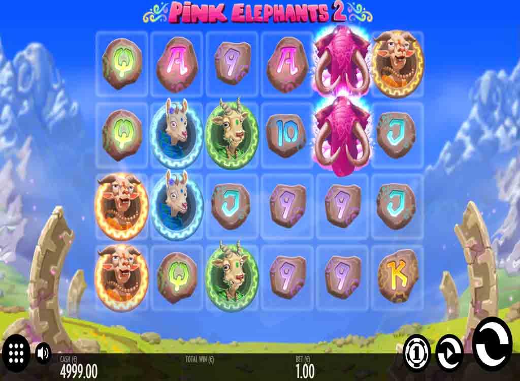 Jouer gratuitement à la machine à sous Pink Elephants 2