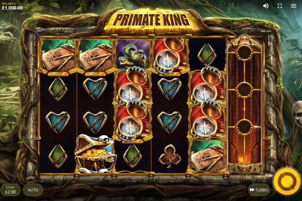 Jouer gratuitement à la machine à sous Primate King