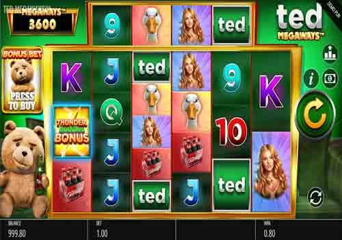 Jouer gratuitement à la machine à sous Ted Megaways