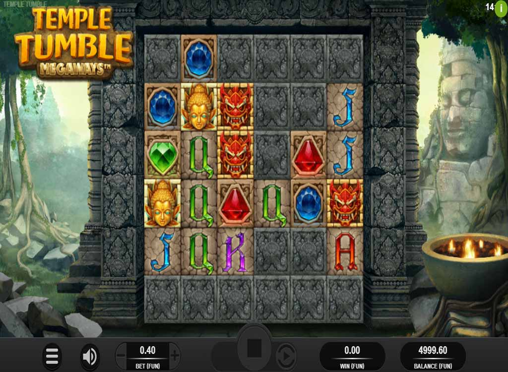 Jouer gratuitement à la machine à sous Temple Tumble