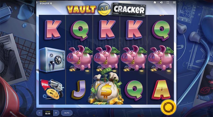 Jouer gratuitement à la machine à sous Vault Cracker
