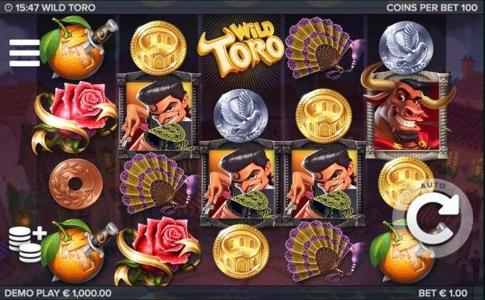 Jouer gratuitement à la machine à sous Wild Toro