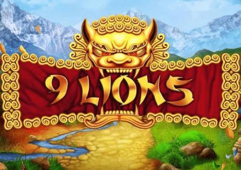 Logo de la machine à sous 9 Lions