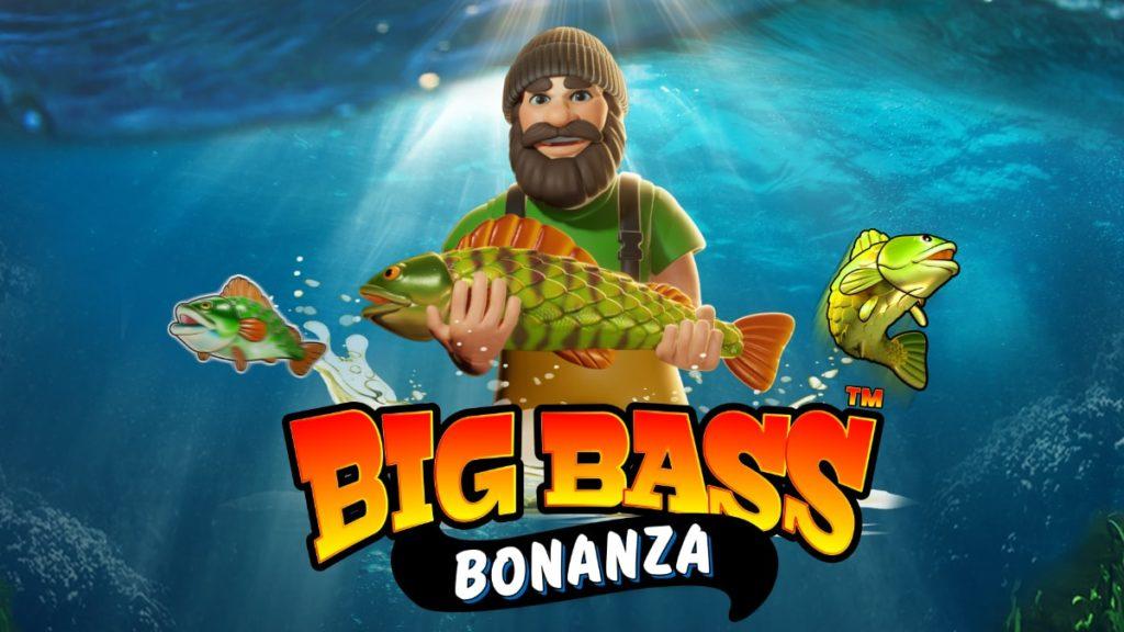 Logo de la machine à sous Big Bass Bonanza