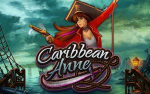 Logo de la machine à sous Caribbean Anne
