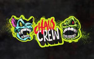 Logo de la machine à sous Chaos Crew