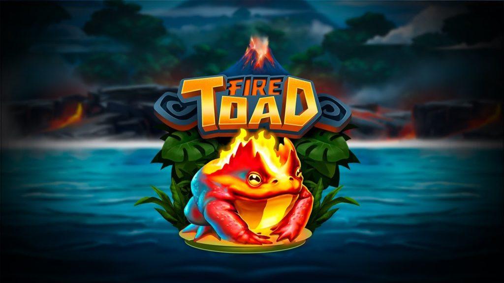 Logo de la machine à sous Fire Toad