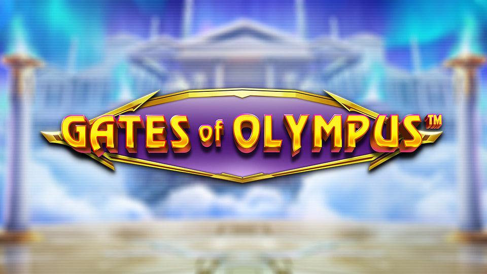 Logo de la machine à sous Gates of Olympus