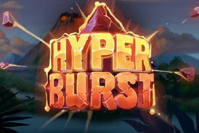 Logo de la machine à sous Hyper Burst