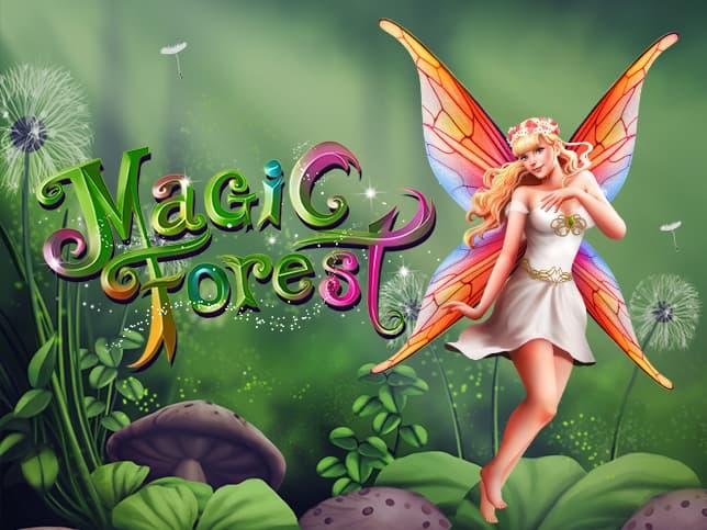 Logo de la machine à sous Magic Forest