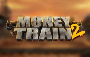 Logo de la machine à sous Money Train 2