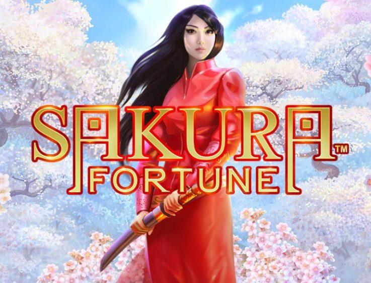 Logo de la machine à sous Sakura Fortune