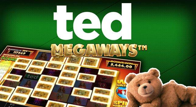 Logo de la machine à sous Ted Megaways