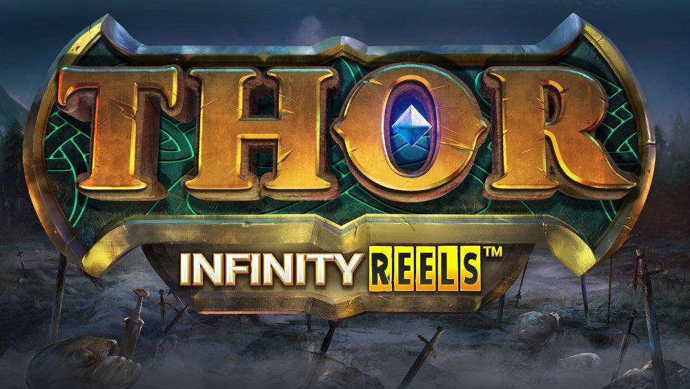 Logo de la machine à sous Thor Infinity