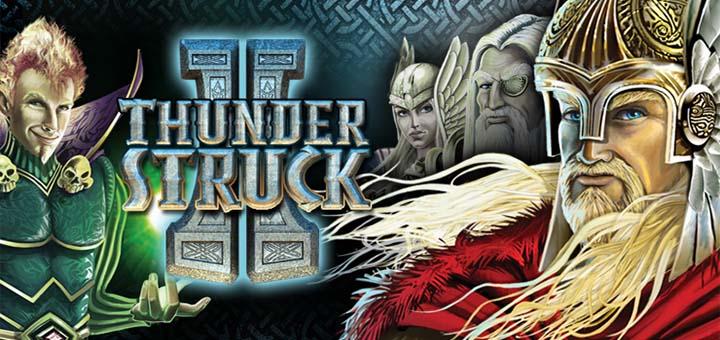 Logo de la machine à sous Thunderstruck II