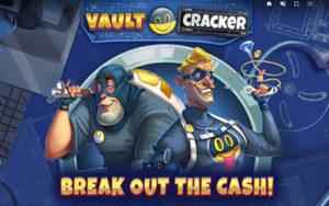 Logo de la machine à sous Vault Cracker