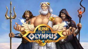 Logo de la machine à sous Rise of Olympus
