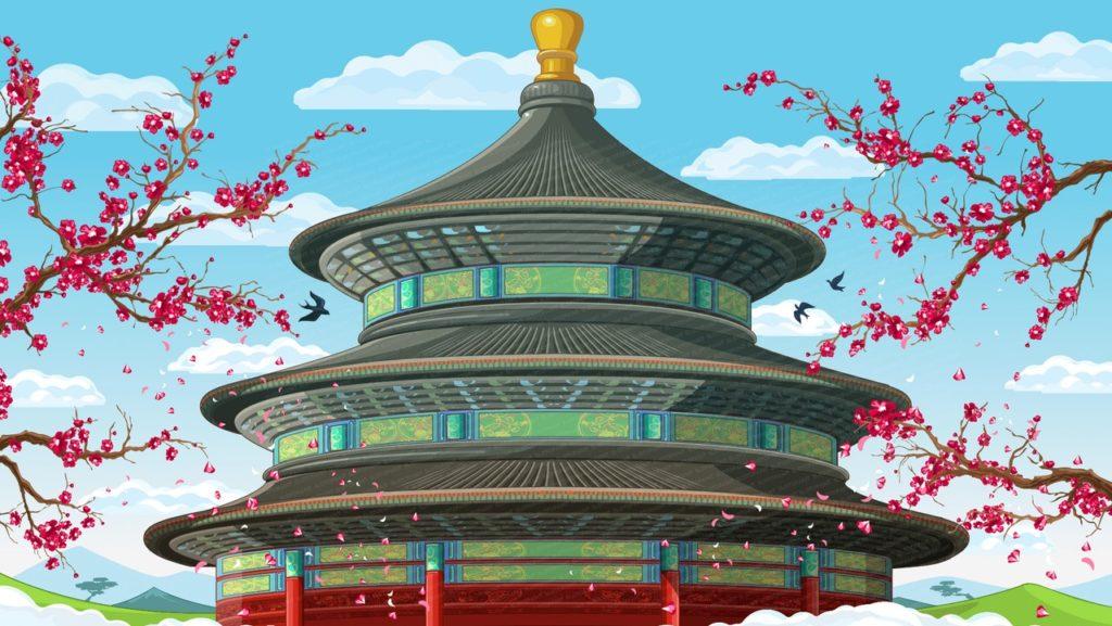 Thème des machines à sous chinoises