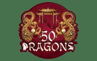 logo machine à sous 50 dragons